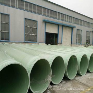 2017 le plus chaud des ventes FRP / GRP fibre de verre composite résine époxy polyester tuyau de traitement de l'eau