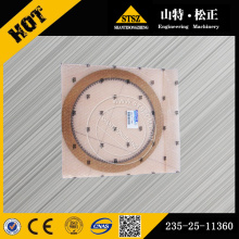 WA420-3 Фрикционная пластина погрузчика Тормозной диск 235-25-11360