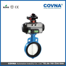 dn80 viton seat wafer type butterfly valve