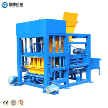 Factory automatic concrete hollow block brick forms production line for sale