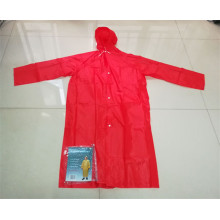 Pvc Waterproof Rain Coat Hooded Rain Coat/Poncho