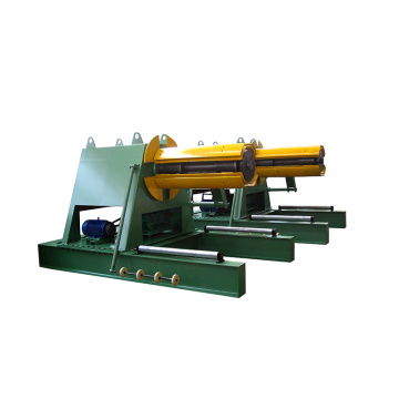high quality manual 10 tons uncoiler decoiler machine