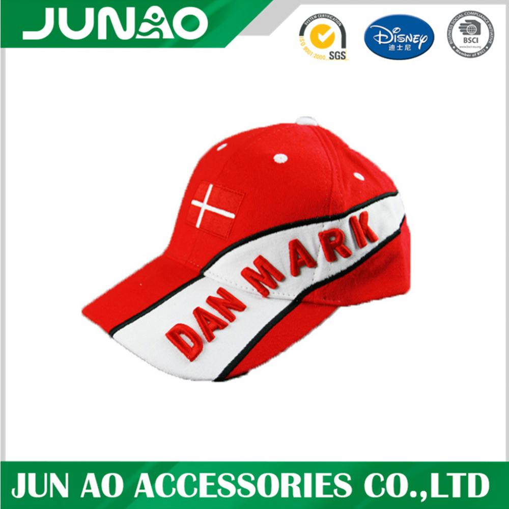 Fashion Custom Fitted Baseball Cap With Embroidery