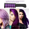 Coloration des cheveux Mascara lavable Temporary Hair Dye Comb