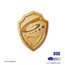 Metall Schild geformt Sheriff Badge Logo Pin Badge zum Verkauf