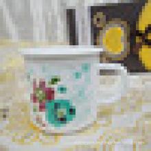 Großhandel gemeinsamen Stil Emaille Kuchen Tasse