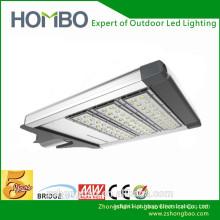 Alibaba golden fabricante luz de rua conduzida solar integrada chip bridgelux de 120w