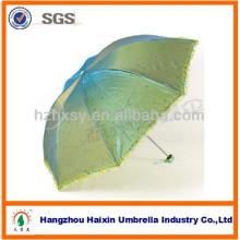 Modische Qualität Lady 3 Falten-Regenschirm