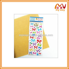 Lovely bowknot common stickers ,very cheap gift items