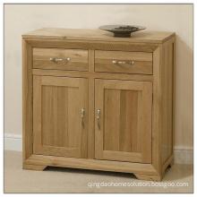 2 Drawers 2 Doors Solid Oak Sideboard UK (HSV005)