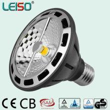 90ra 2500k 15W COB Réflecteur LED PAR30 Spot Licht
