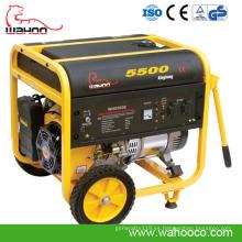 Generador diesel abierto abierto refrigerado por aire de 4kw4.5kw 3-Phase Open Frame (WK5500)