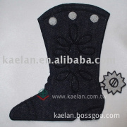 Boot Embroidered badges