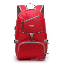 Al aire libre de viajes de viajes de deportes bolsa impermeable plegable mochila