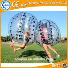 A melhor bola de borracha da esfera / bolha de borbulhagem do adulto da venda para o futebol