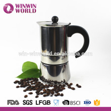 Venda quente de aço inoxidável italiano Espresso Coffee Maker