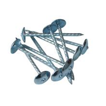 Popular Umbrella Cabeza de todos los tamaños Roofing Nail