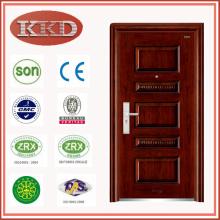 Comercial seguridad acero puerta KKD-523 para proyecto
