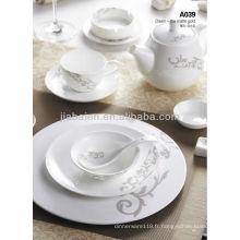 A003-1 Ensemble de dîner léger en porcelaine