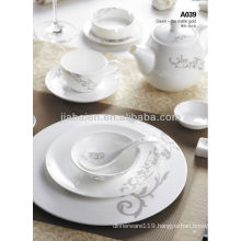 A003-1 Porcelain light weight dinner set