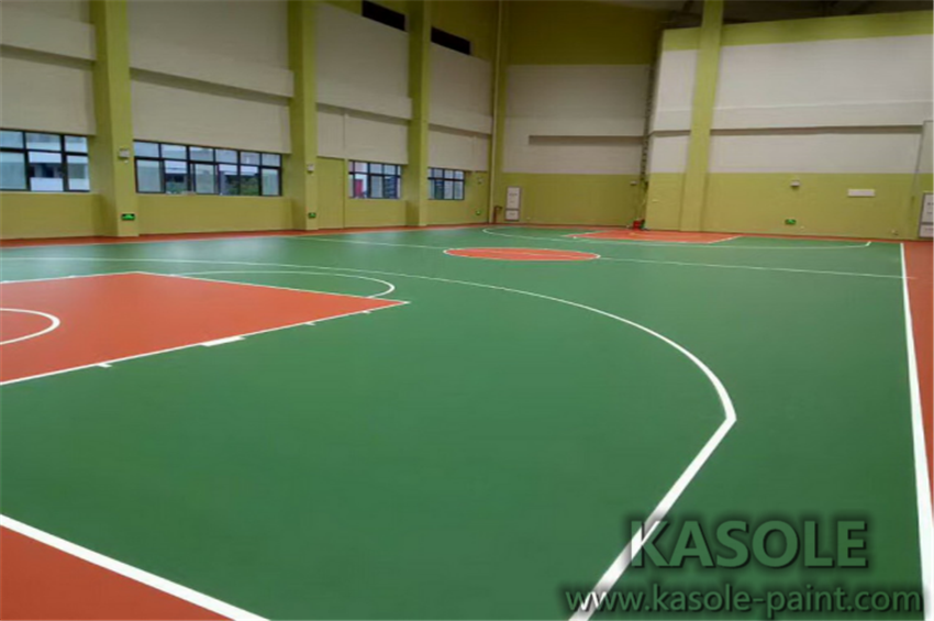 PU Flooring Basketball Court