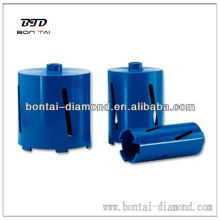 Laser welded dry core drill/ Diamond core bits