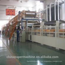 Máquina de papel corrugado máquina de fabricación de papel acanalado