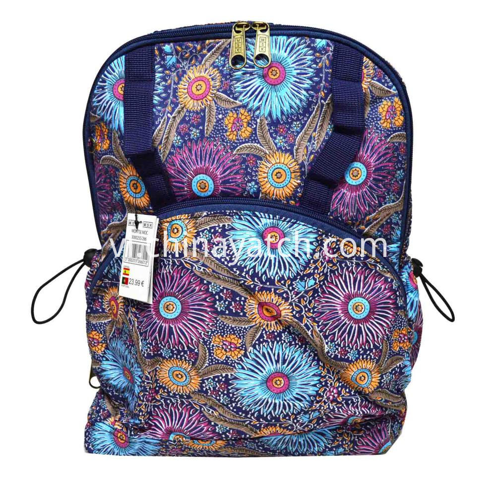 Cotton Fashion Backpack