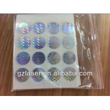 3D hologram sticker sheet, Hologram Sticker for Anti-counterfeit