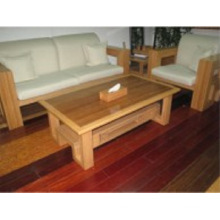 Bamboo Furniture Bamboo 3-Seats Chair Coffee Table Set