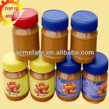 Fabricante de mantequilla de cacahuete crujiente / cremoso
