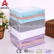 3pcs 65-85gsm polyester microfiber cheap twin bed sheet sets