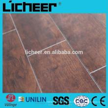 Indoor billig Laminatboden Hochglanz Oberfläche Bodenbelag