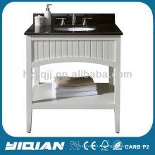 Отель / проект китайская тщеславие свободно стоящая современная деревянная мебель для ванной комнаты