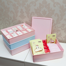 Hot Selling Plastic Underwear Box With Lid