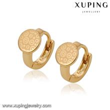 91572 arabe design simple belle matière en alliage de cuivre pour faire des boucles d'oreilles créoles
