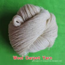 les fils de moquette les plus bas et les fabricants d'usine, les fils de tapis de laine, les fils de laine et de viscose