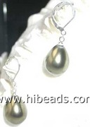 closeout fashion jewelry earring pearl with silver accessory SPE0059