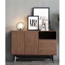 Деревянный кухонный шкаф-буфет