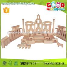 Zhejiang 200pcs juguete de madera hecho a mano Bloques de construcción para niños