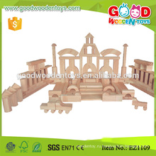 Zhejiang 200pcs ручной работы деревянная игрушка Строительство блоков для детей
