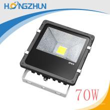 Limpando luminária alumínio médio painel solar levou holofote 70w ip65