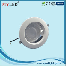 Plastic Cover Inner Aluminum Led Downlight 6 inch 18w Led Recessed Light