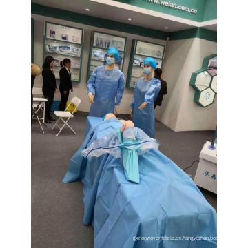Paquete de paño quirúrgico estéril desechable para artroscopia de rodilla