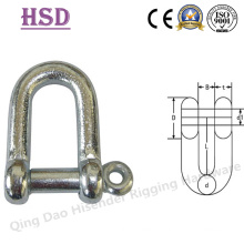 Fastener, JIS D Type Shackle, European D Type, DIN82101 D Type, Anchor Shackle, Rigging Hardware, Marine Hardware