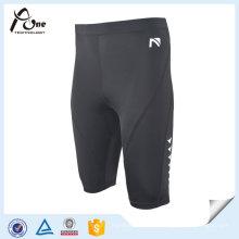 Shorts de compressão de fitness comprimido para homens