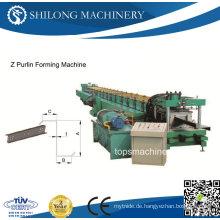 High Speed Z Purlin Roll Umformmaschine