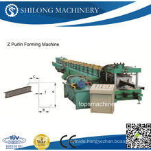 High Speed Z Purlin Roll Forming Machine