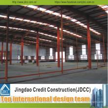 Construções claras da construção de aço da casa pré-fabricada