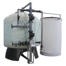 Amaciador de resina de intercambio de iones de gran flujo para agua de caldera